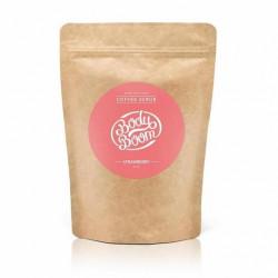 مقشر القهوة للجسم من بادي بوم - بالفراولة 200 جم