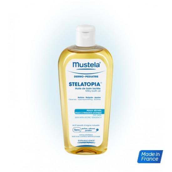 موستيلا زيت الاستحمام الحليبي ستيلاتوبيا للأطفال 200 مل