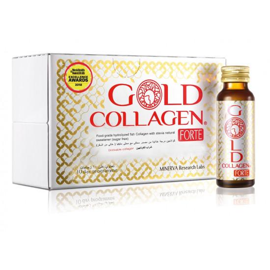 جولد كولاجين مشروب الكولاجين لإعادة شباب البشرة ( 10 زجاجات)